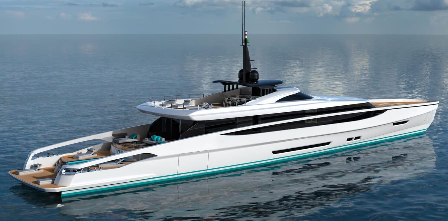 Motor Yacht FAST DISPLACEMENT XLR-300