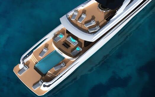 Motor Yacht FAST DISPLACEMENT XLR-300 decks