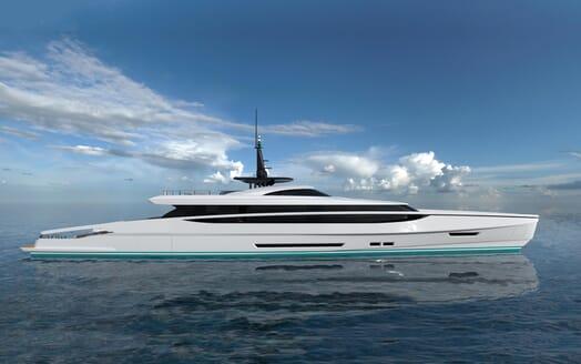 Motor Yacht FAST DISPLACEMENT XLR-300 model