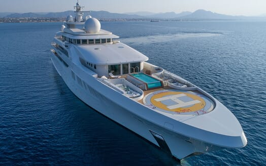 Motor Yacht ELEMENTS Main Saloon Dertail