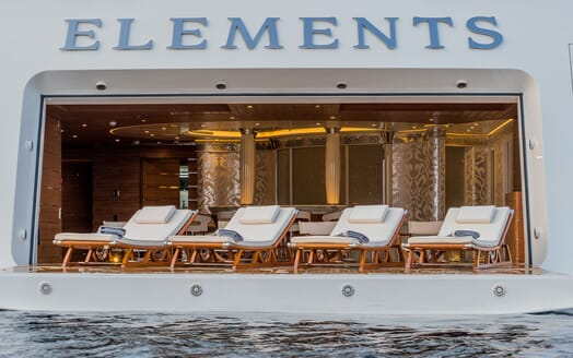 Motor Yacht ELEMENTS Games Room