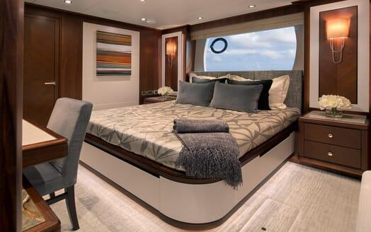 Motor Yacht Sugaray VIP cabin