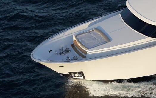 Motor Yacht Sugaray bow