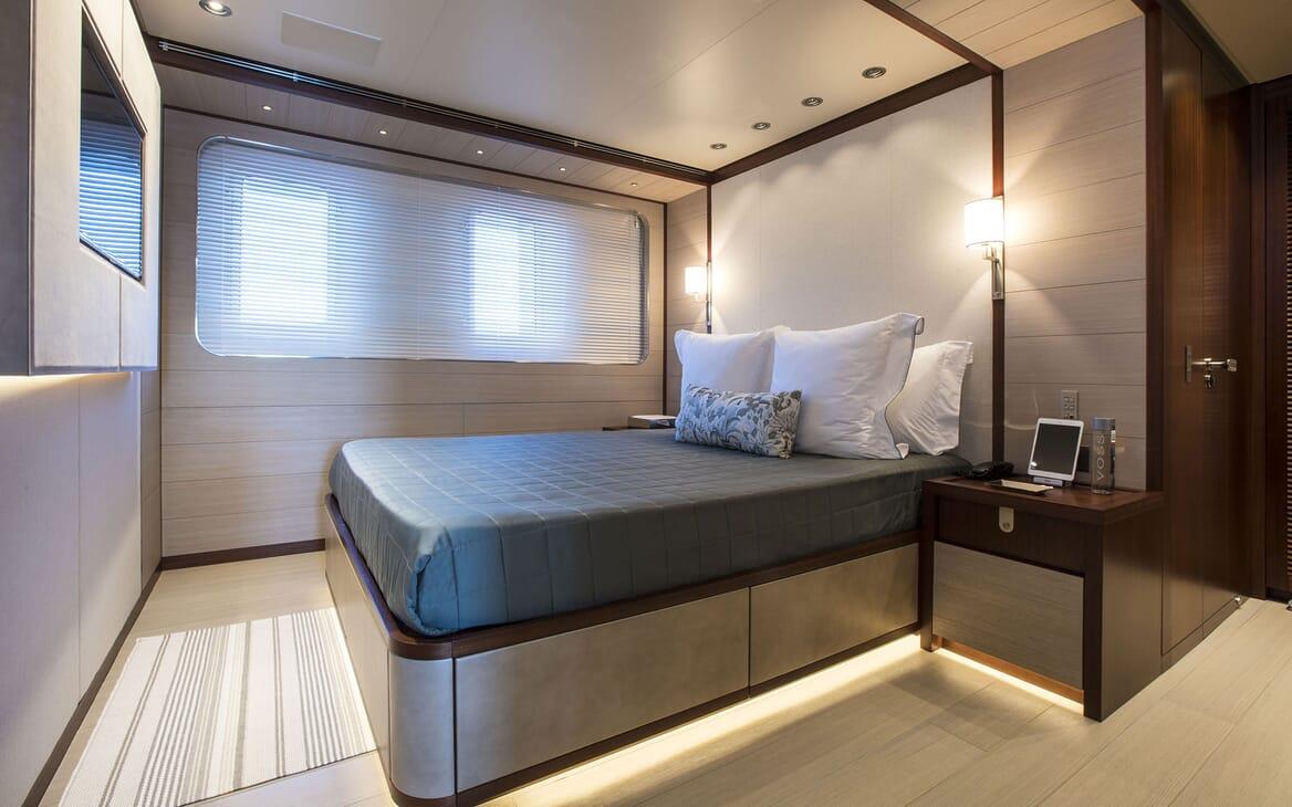 Motor Yacht MOKA Guest Double Stateroom