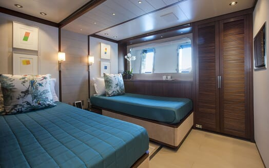 Motor Yacht MOKA Twin Guest Stateroom