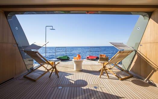 Motor Yacht MOKA Swim Platform