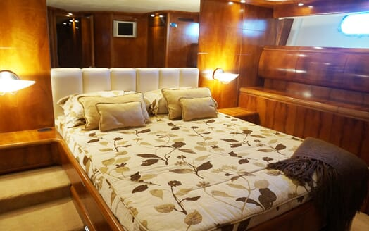 Motor Yacht Illa guest cabin