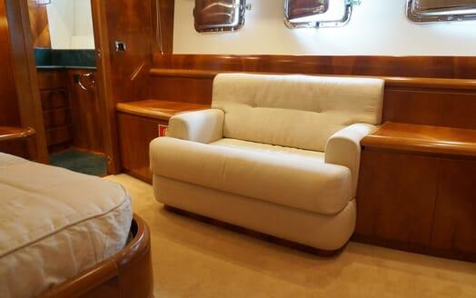 Motor Yacht Illa seating area