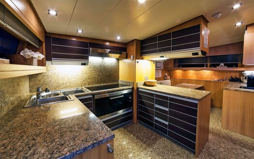 Motor Yacht PANTHOURS Galley