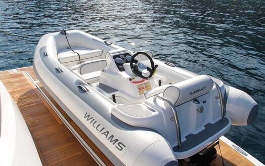 Motor Yacht Mia tender