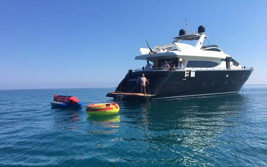 Motor Yacht Seven Stars toys