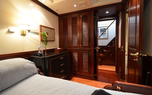 Sailing Yacht SHENANDOAH Guest Stateroom