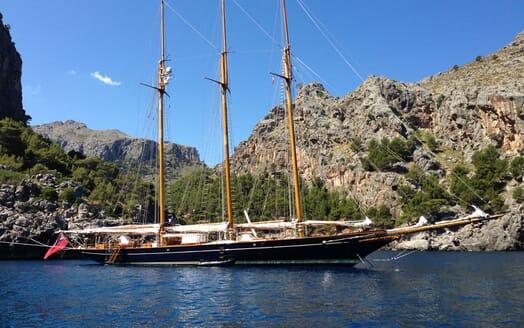Sailing Yacht SHENANDOAH Moored