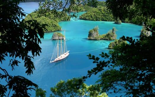 Sailing Yacht SHENANDOAH Moored Views