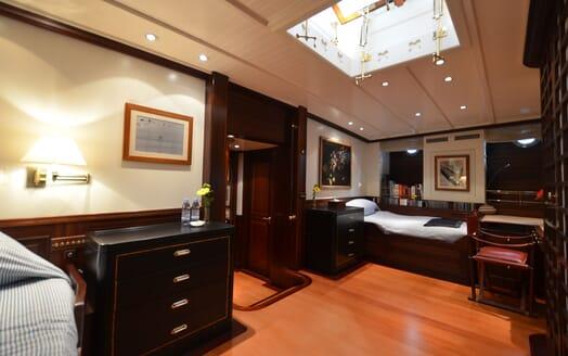 Sailing Yacht SHENANDOAH Twin Stateroom