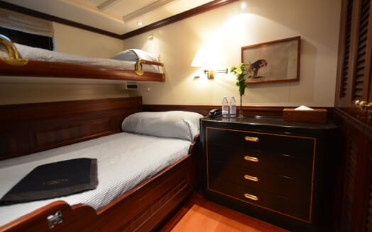 Sailing Yacht SHENANDOAH Twin Guest Stateroom