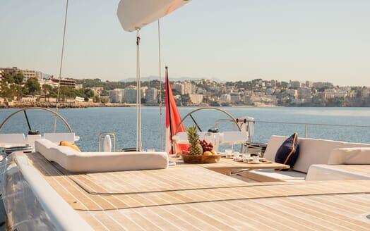 Sailing Yacht SWAN 80-102 SAPMA Deck Wheels