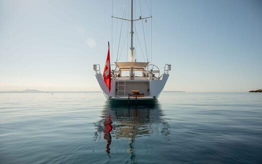 Sailing Yacht SWAN 80-102 SAPMA Aft Swim Platform