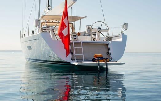 Sailing Yacht SWAN 80-102 SAPMA Swim Platform