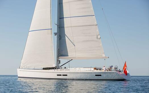 Sailing Yacht SWAN 80-102 SAPMA Profile Underway