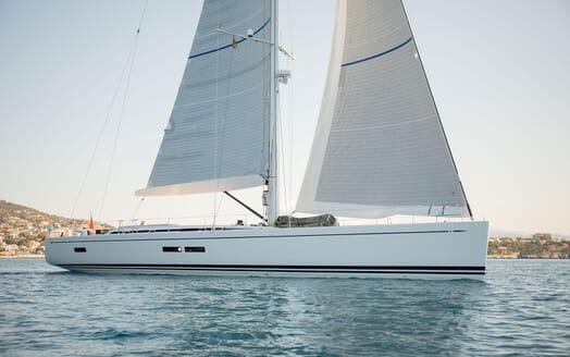 Sailing Yacht SWAN 80-102 SAPMA Exterior Profile Underway