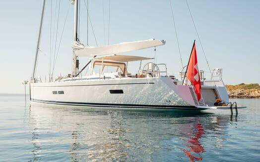 Sailing Yacht SWAN 80-102 SAPMA Exterior Aft View