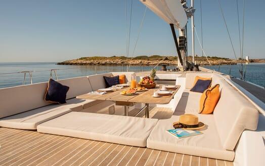 Sailing Yacht SAPMA Galley