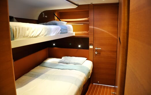 Sailing Yacht SWAN 80-102 SAPMA Twin Guest Stateroom