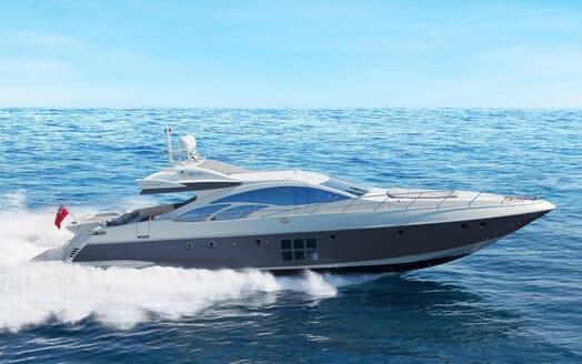 Motor Yacht Anche No running shot