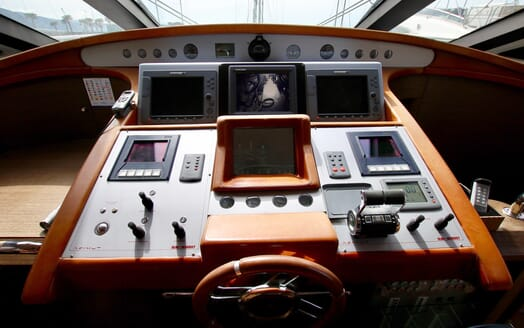 Motor Yacht Anche No controls
