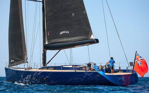 Sailing Yacht Inti3 sailing