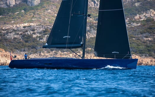Sailing Yacht Inti3 cruising