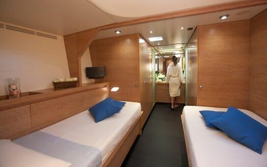 Sailing Yacht Inti3 twin cabin