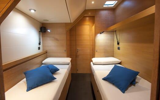 Sailing Yacht Inti3 twin stateroom