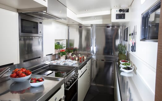 Sailing Yacht Inti3 galley