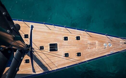Sailing Yacht Inti3 aerial