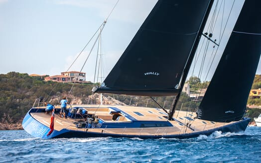 Sailing Yacht Inti3 under sail