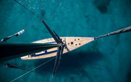 Sailing Yacht Inti3 anchored