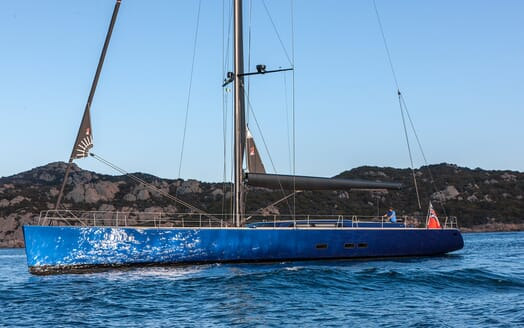 Sailing Yacht Inti3 at anchor