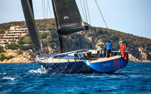 Sailing Yacht Inti3 exterior shot