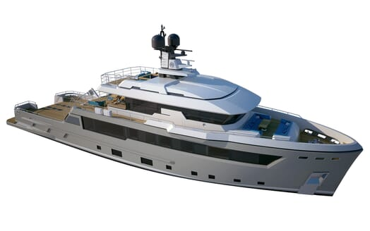 Motor Yacht Flexplorer model