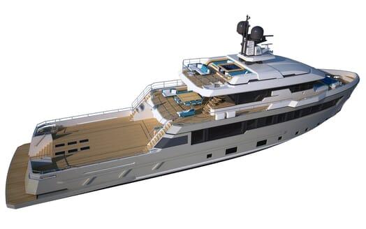 Motor Yacht Flexplorer aerial
