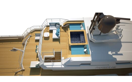 Motor Yacht Flexplorer decks
