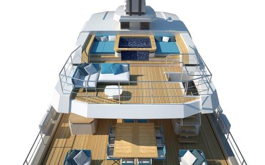Motor Yacht Flexplorer main deck