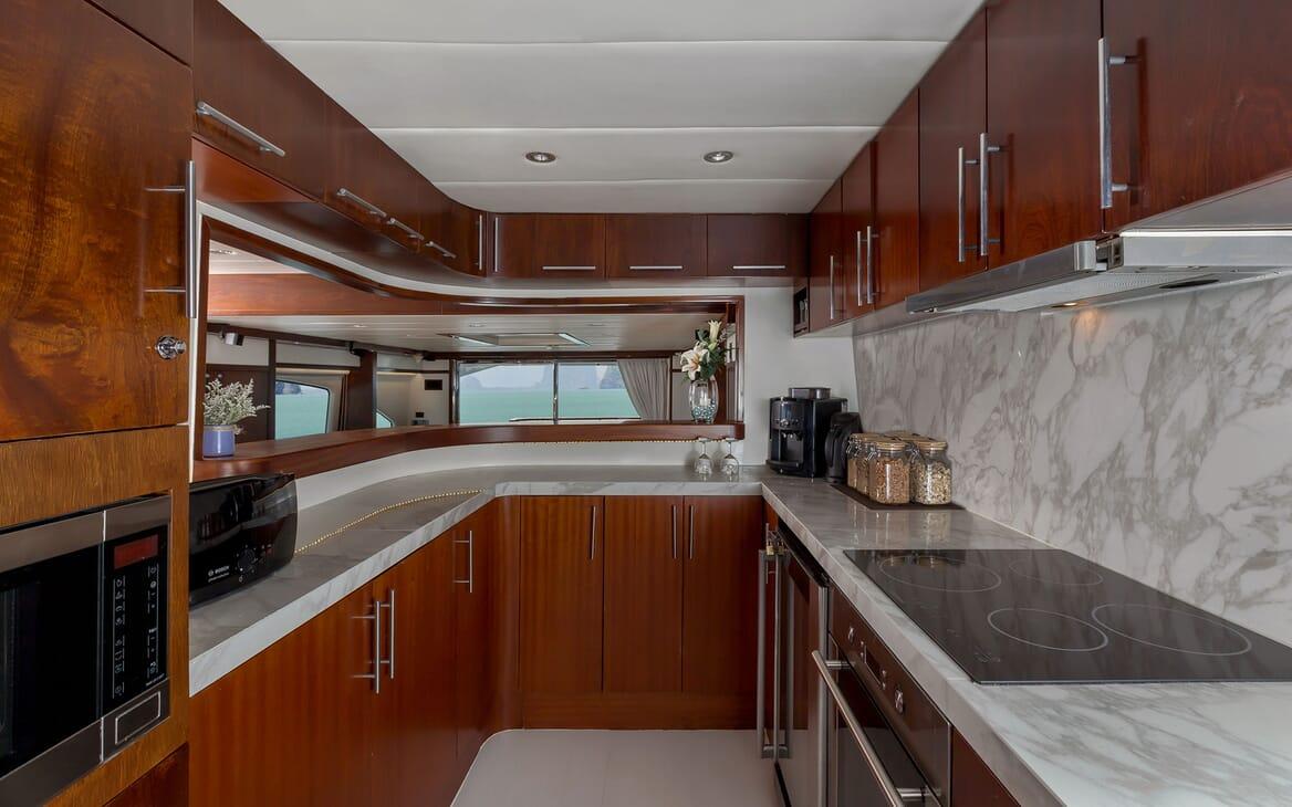 Motor Yacht MIA KAI Galley