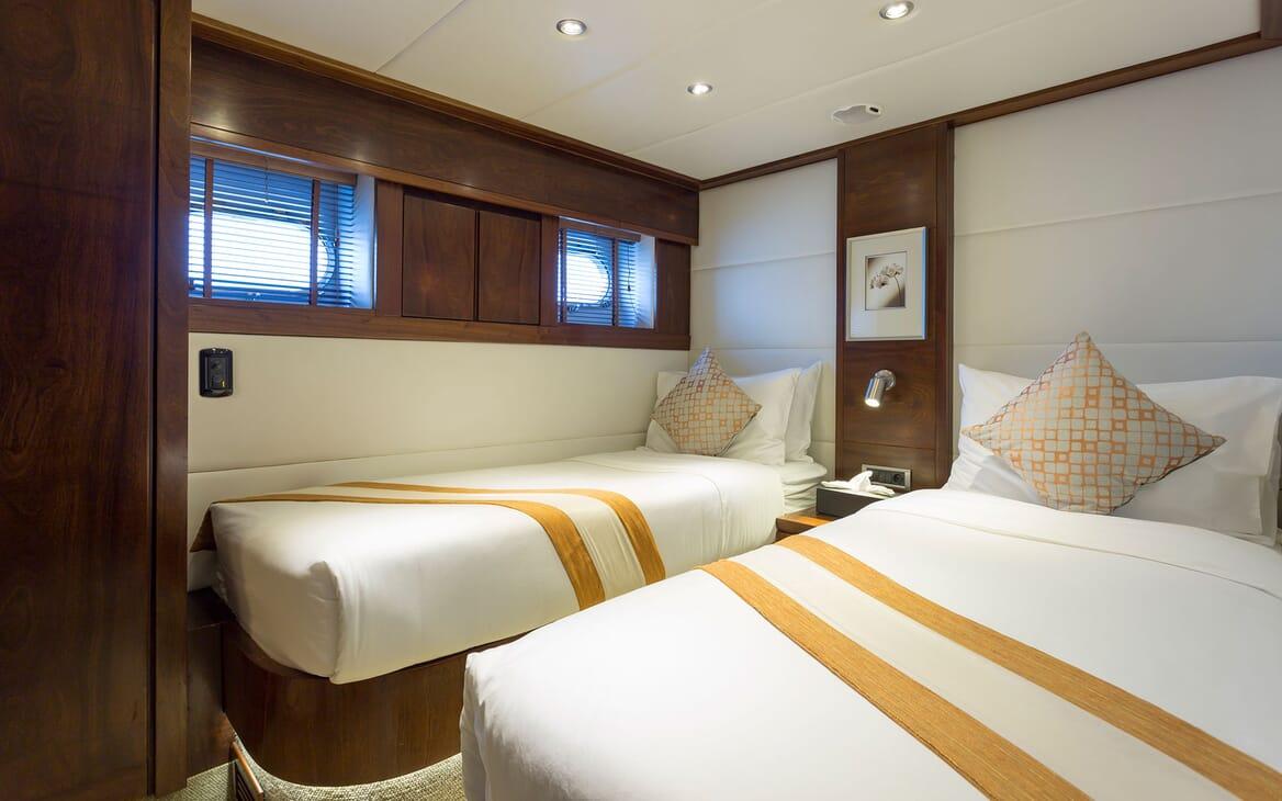 Motor Yacht MIA KAI Twin Guest Stateroom