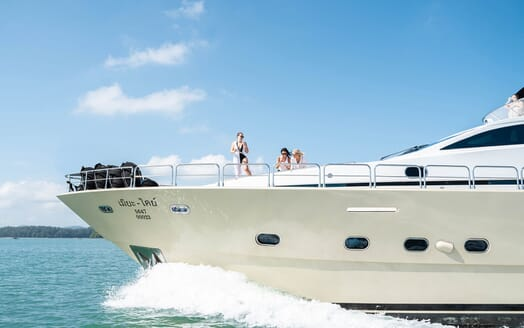 Motor Yacht MIA KAI Bow