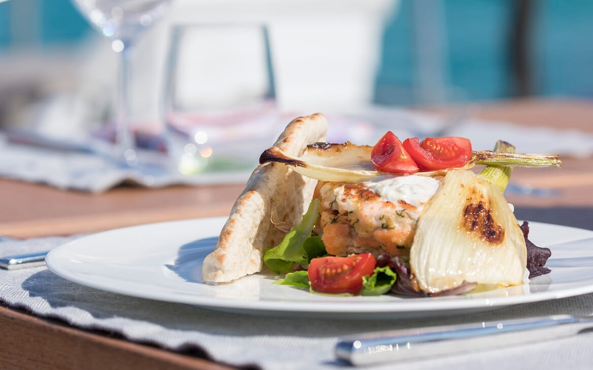 Sailing Yacht Allegro food
