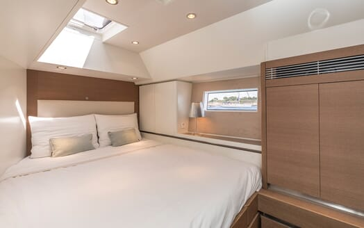 Sailing Yacht Allegro guest cabin