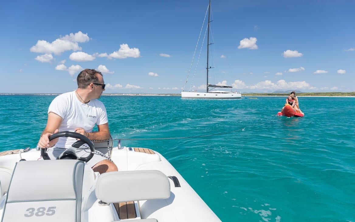 Sailing Yacht Allegro toys